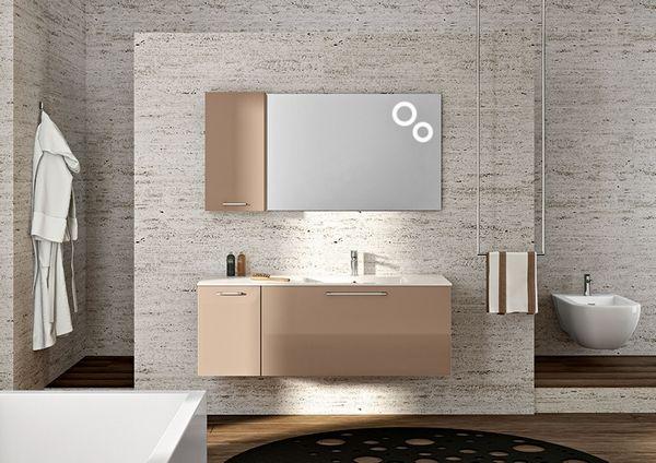 I mobili per il bagno moderni non sono più solo bianchi e minimal ...