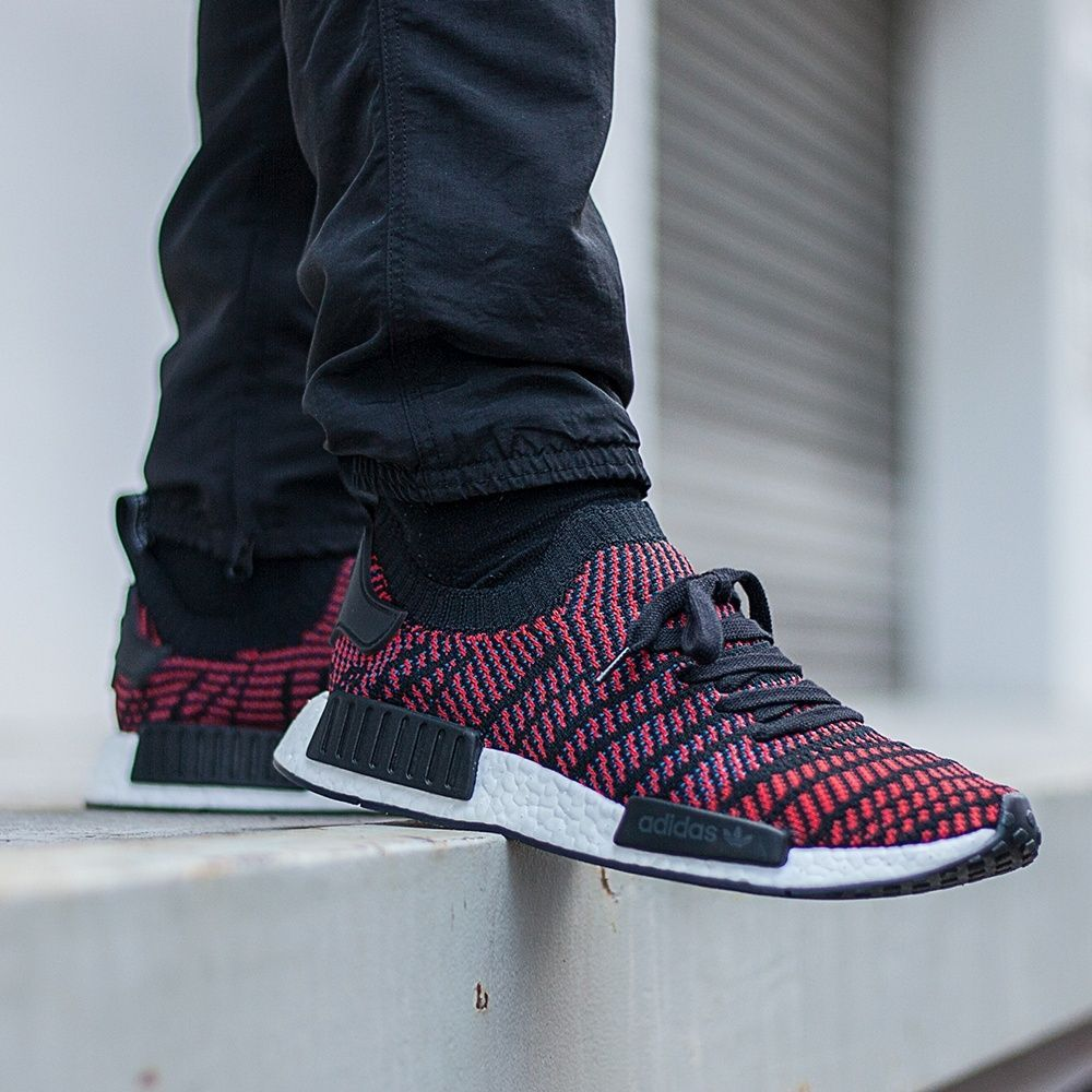 innovative design 4be04 a997a adidas NMD R1 STLT PK Red | F**K Love, Gimme Shoes in 2019 ...