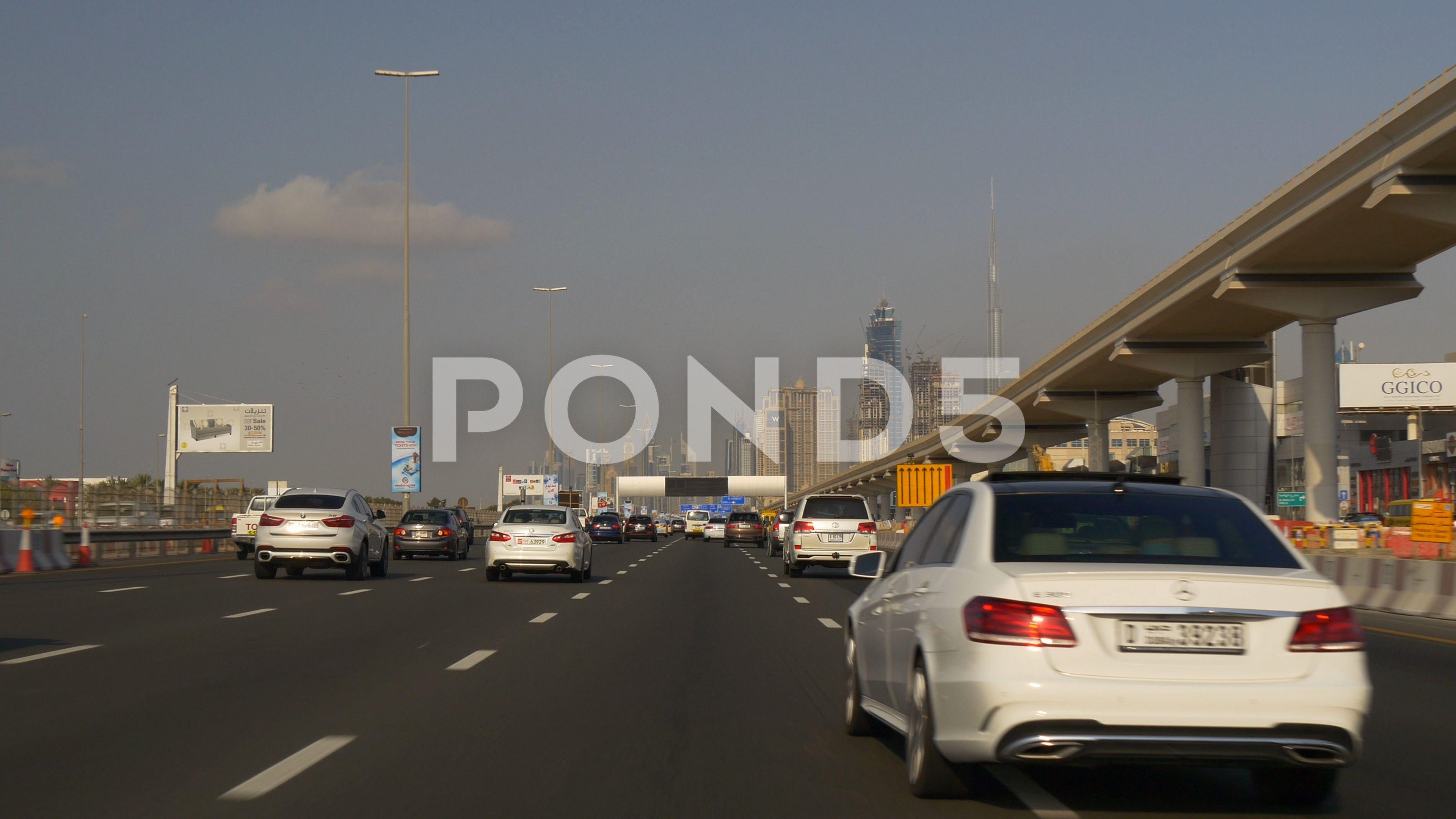 Day Time Sunset Dubai City Main Traffic Pov Car Driving Panorama 4k Uae Stock Footage Ad City Main Traffic Dubai Best Family Cars