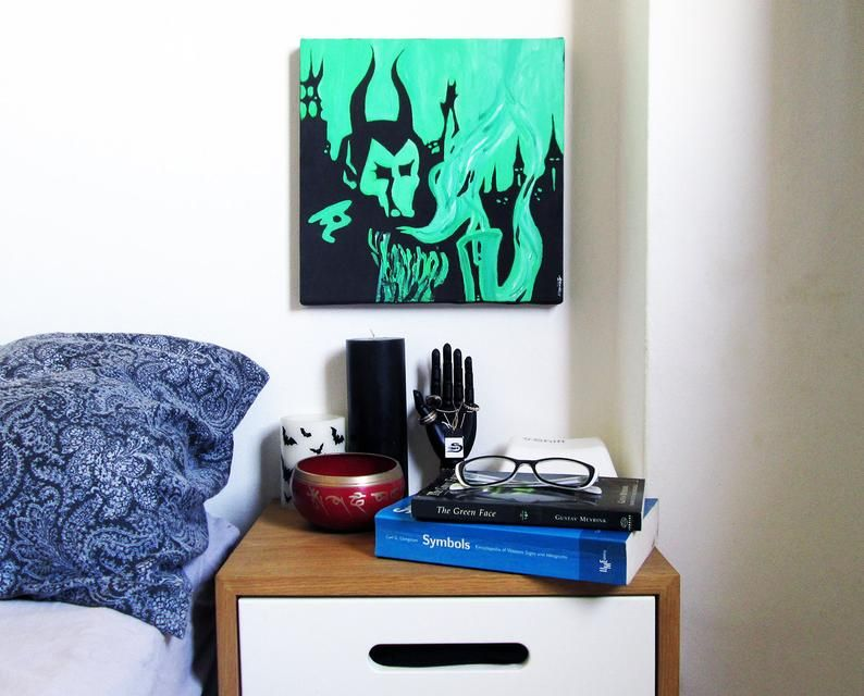 Electric Wizard Dopethrone Painting Doom Sludge Stoner