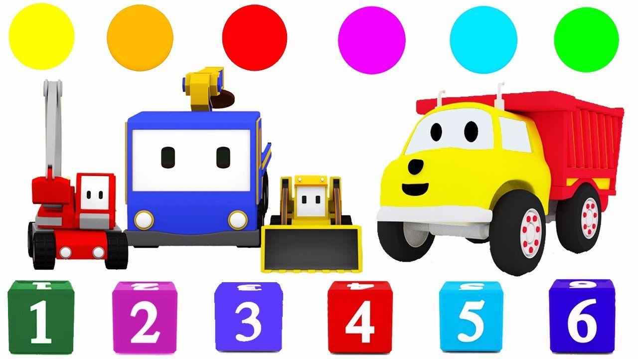 Aprender los colores y los números con Ethan el Camión Volquete y ...