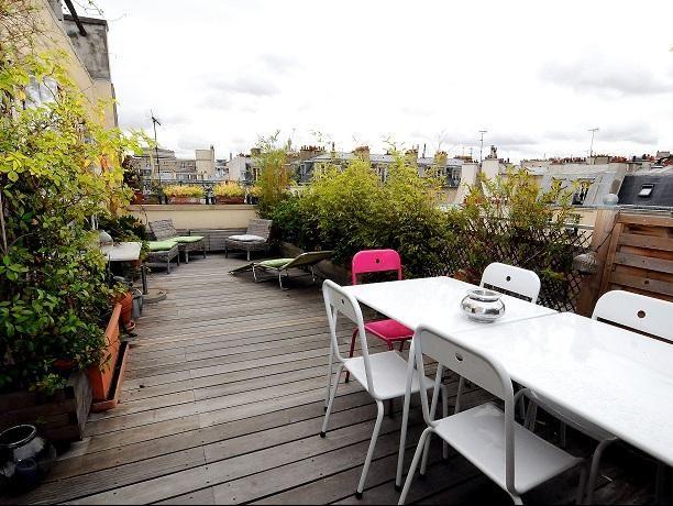 terrasse sur les toits de paris 45m2 passage doisy 75017 paris france toits terrasses. Black Bedroom Furniture Sets. Home Design Ideas