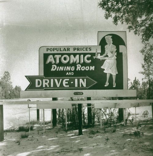 Atomic Dining Room    Augusta, Georgia, 1952