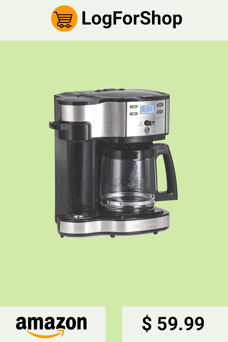 The 49980a Hamilton Beach Single Coffee Maker Is An Intergraded