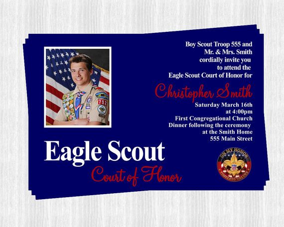 Eagle Scout Invitations Court of Honor Eagle scout Eagle and