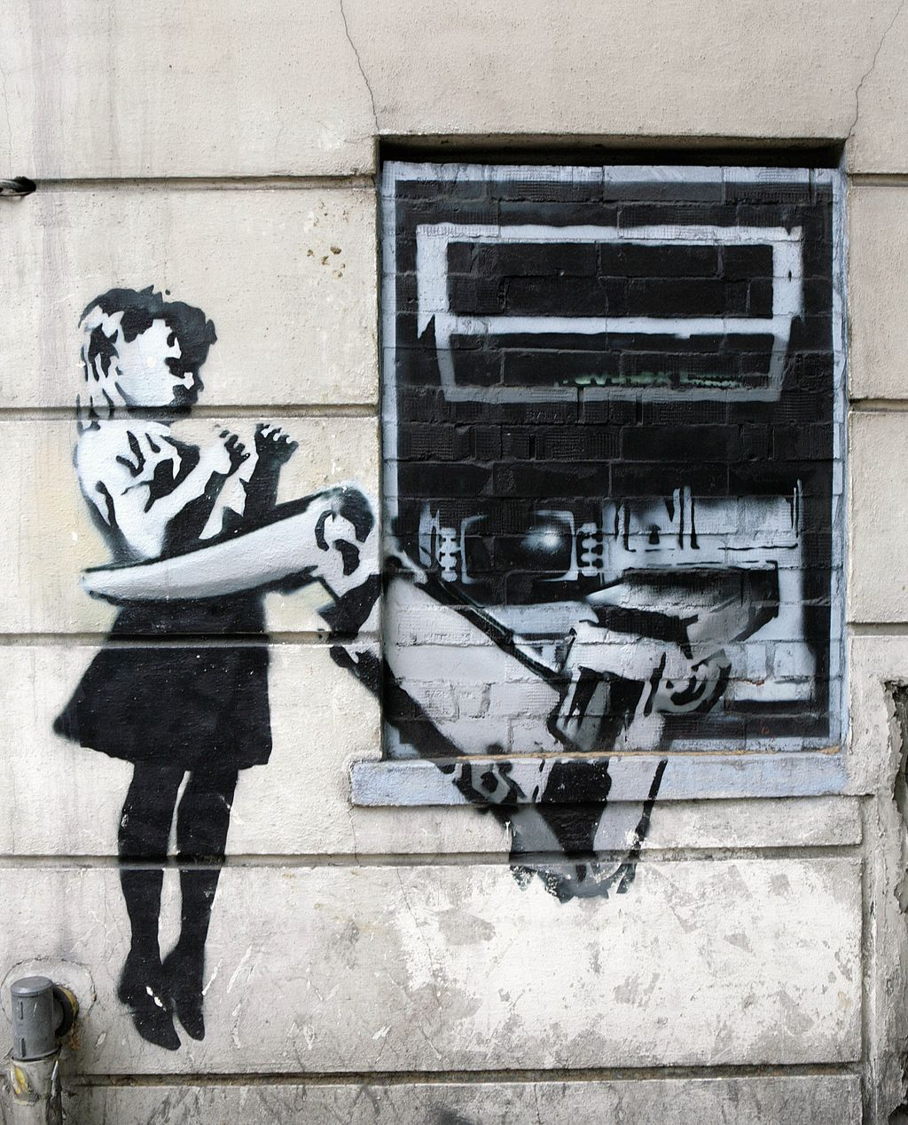 23 Key Facts You Need To Know About Banksy Banksy Art Street Art Banksy Street Art