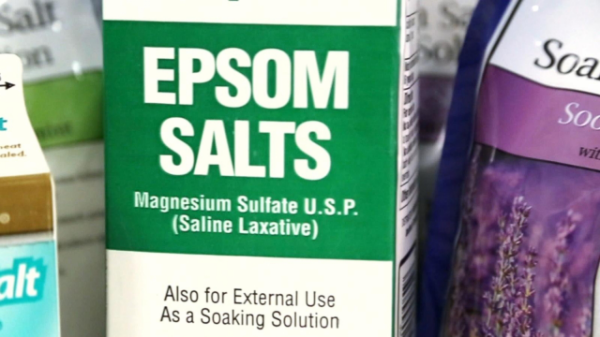 looking into Epsom salt and whether it can really help your aching muscles.
