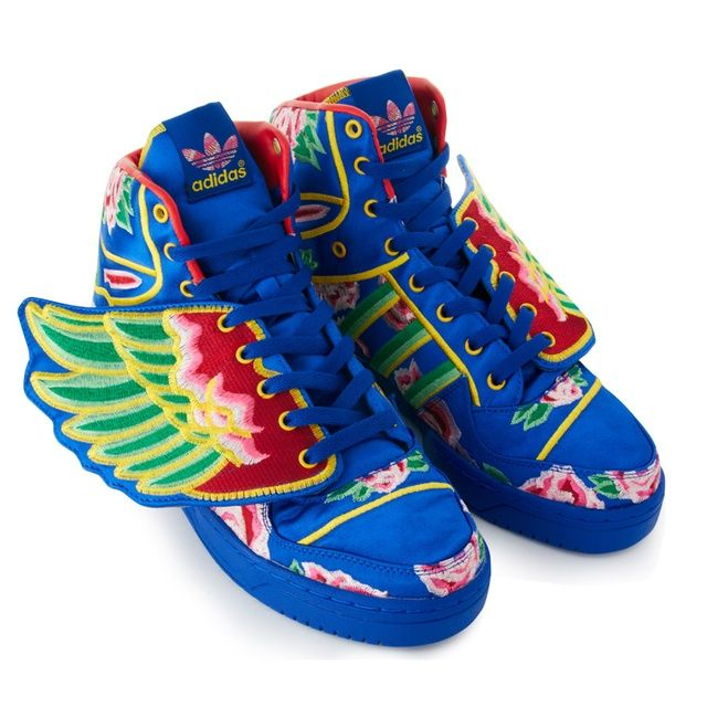 check out ca9b4 b3223 adidas ObyO adidas x jeremy scott clot wings (BLUE ...