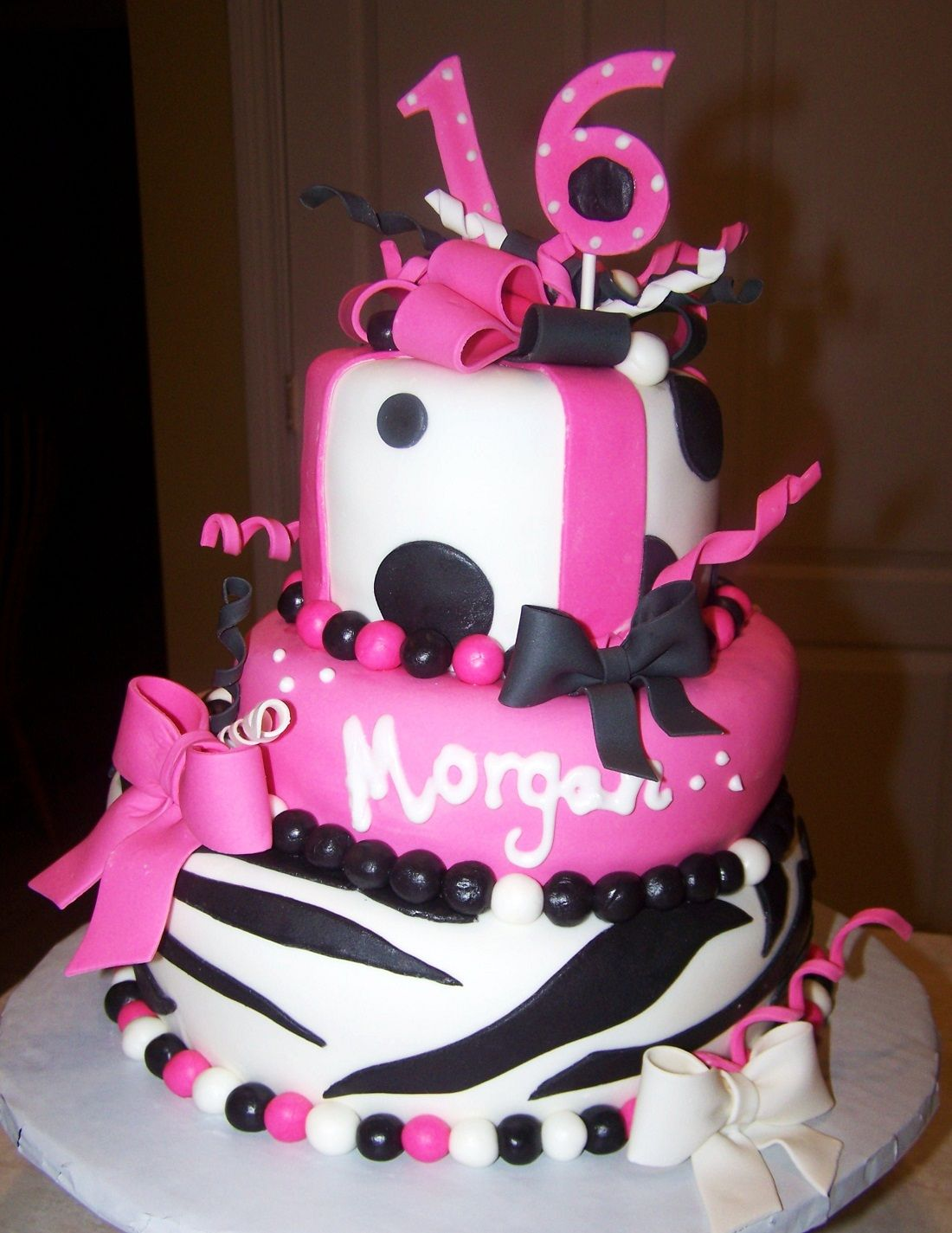 Dance Cakes For Sweet  Birthdays Sweet  Cakes  Decoration - Sweet 16 birthday cakes