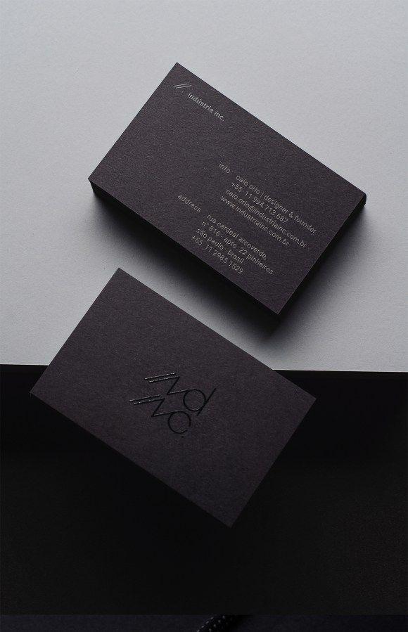 Business card design 17 businesscard pinterest business cards 14 of the best clean classy business card designs colourmoves