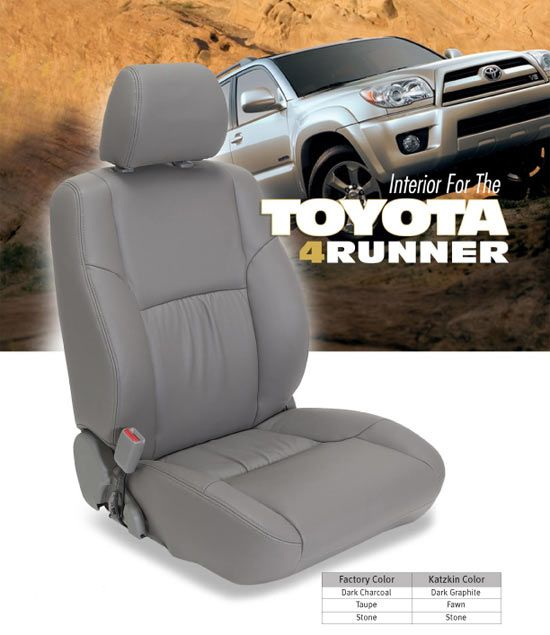 Stupendous Toyota 4Runner Sport Katzkin Leather Seats 1996 1997 1998 Dailytribune Chair Design For Home Dailytribuneorg