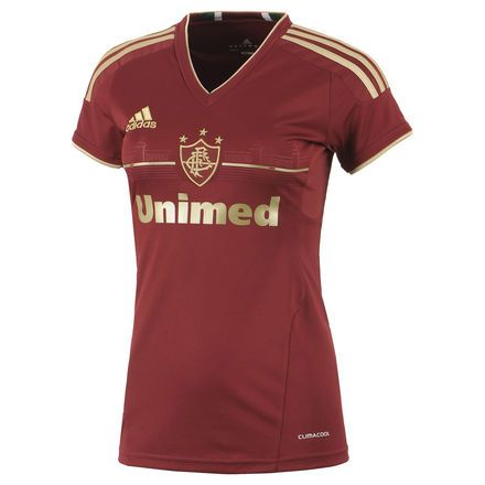 Camisa Fluminense III Feminina Preço  R  149 8e4de63d78720