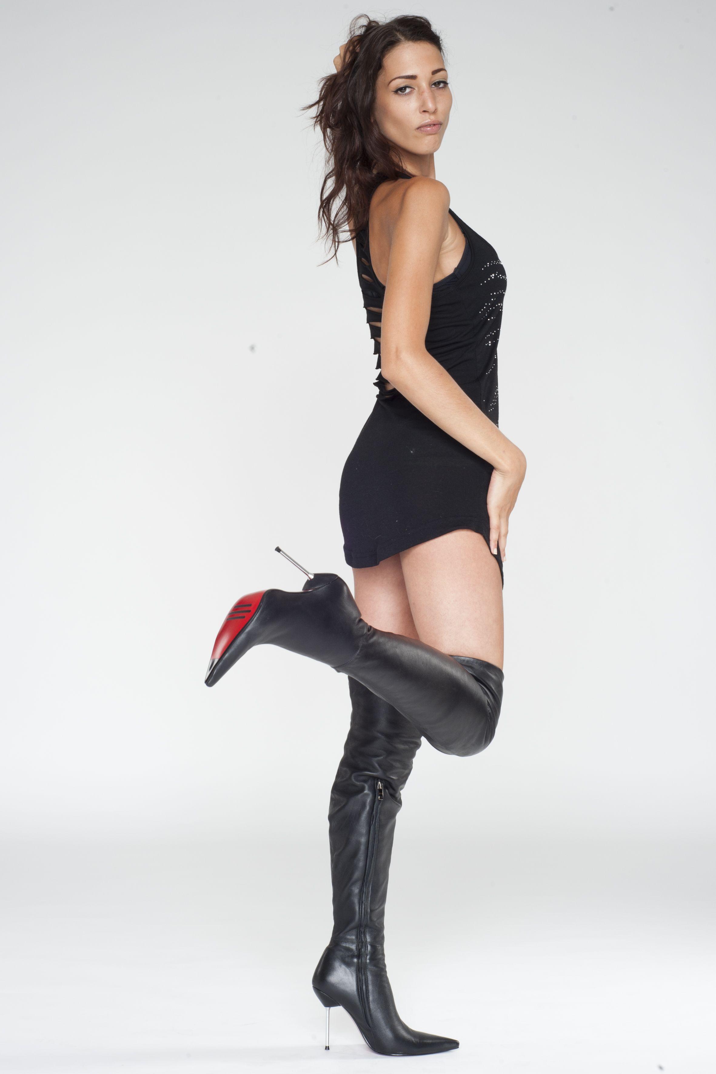 Arollo Leather Heeled Boots 1179a57adcf493508d3ecdb636504f73