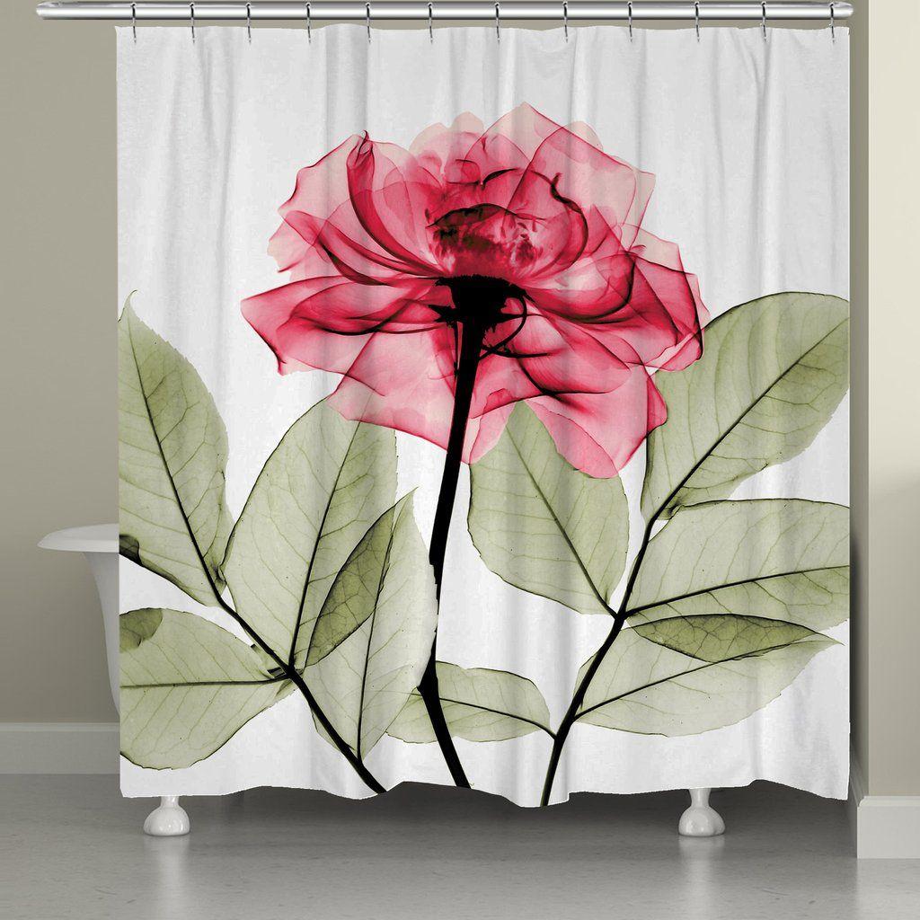 Rose Shower Curtain By Albert Koetsier