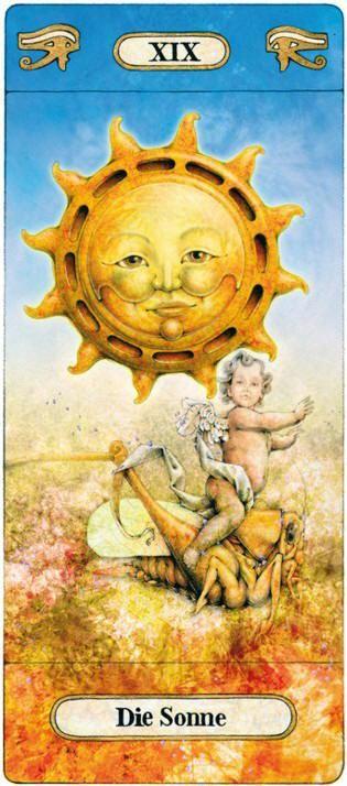 XIX. The Sun - Temple of Secrets by Reinhard Schmid