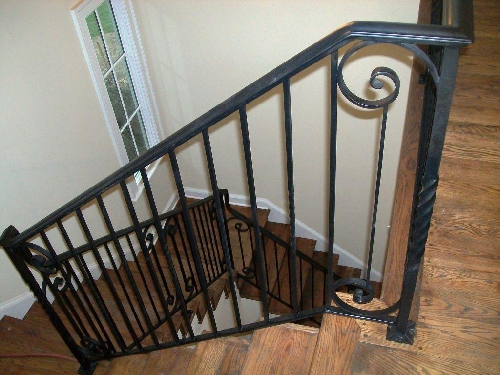 exterior wrought iron stair railing kits n51 verambelles ...