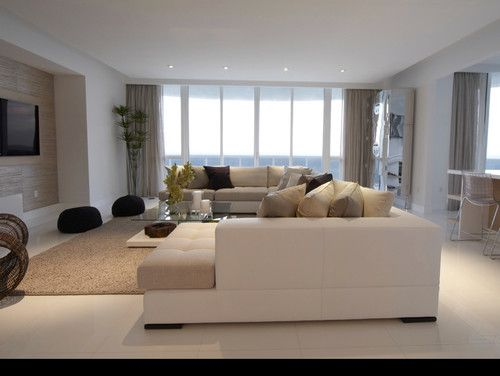 Sunny Isles Fl  Contemporary  Living Room  Miami  Associated Glamorous Living Room Miami 2018