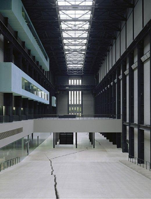 Tate Modern gallery- former power station- Southwark station