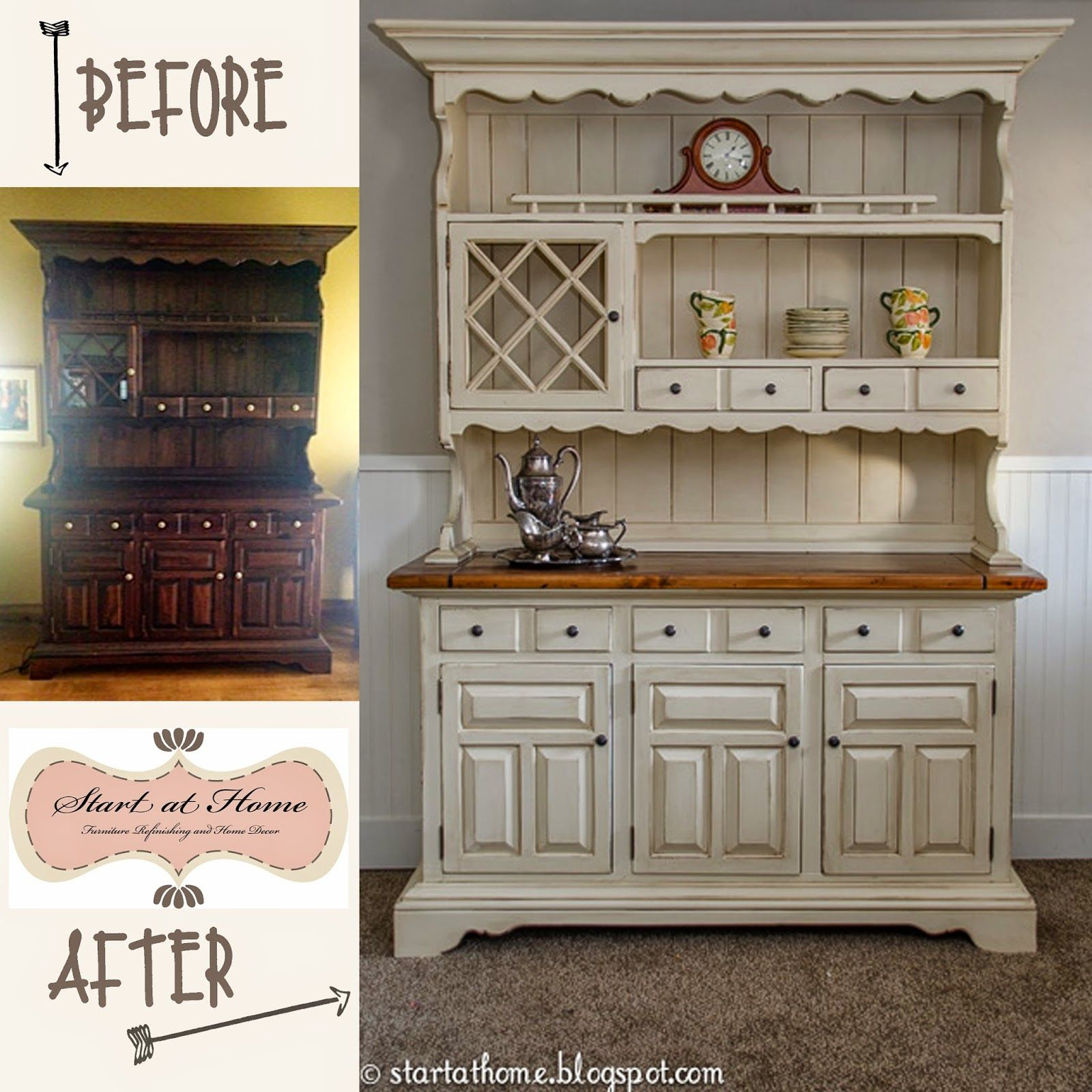 the hutch makeover turned out really well i must say what a