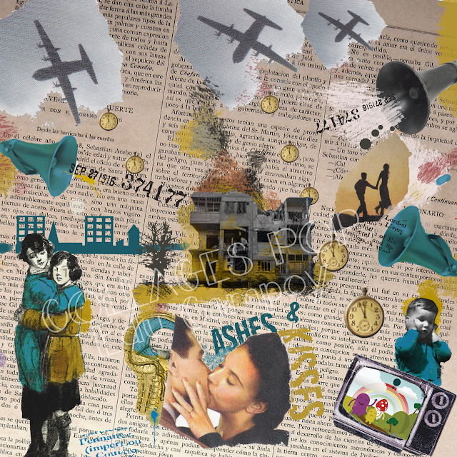 Collages Pop Eduardo Campoy M Bandera Blanca Collages Collage