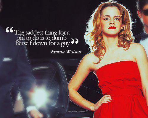 Well said Emma.