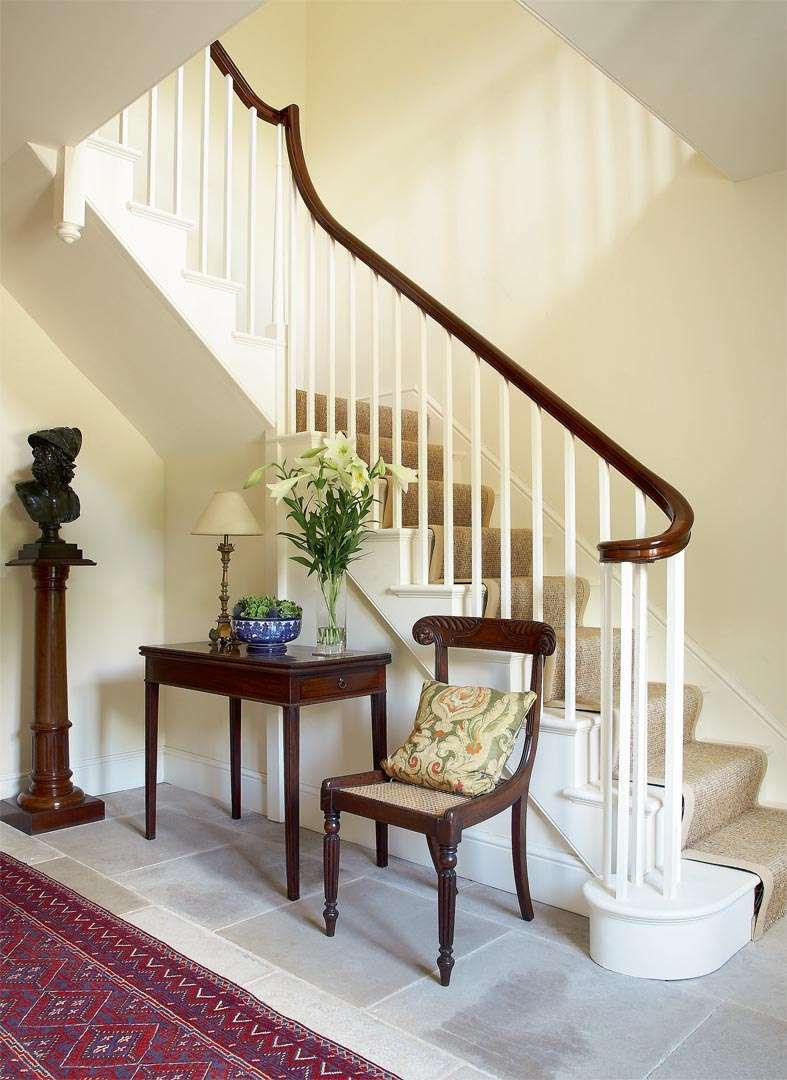 Restoring a georgian farmhouse period living look for Georgian staircase design