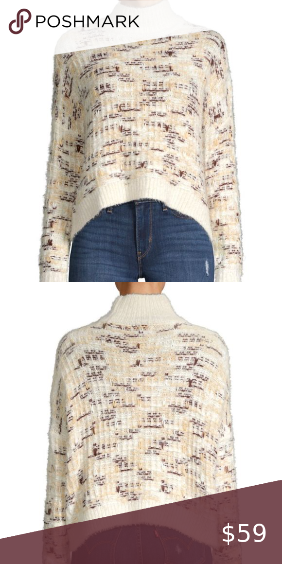 Only Textured Highneck Sweater Only Textured Highn