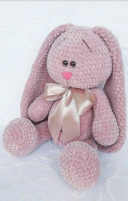 coniglietto Amigurumi tutorial - schema/How to crochet a rabbit ... | 692x442