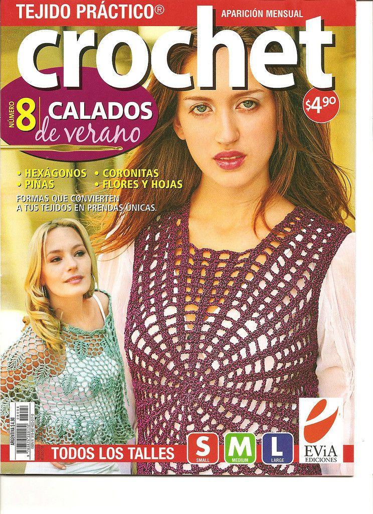 Top Circulo Curvas Caladas Patron | revistas de crochet | Pinterest ...