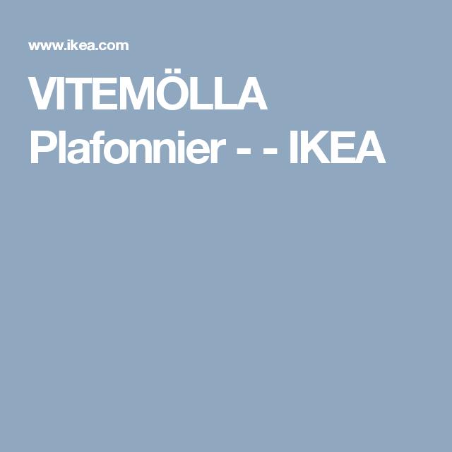 VITEMÖLLA Plafonnier -    - IKEA