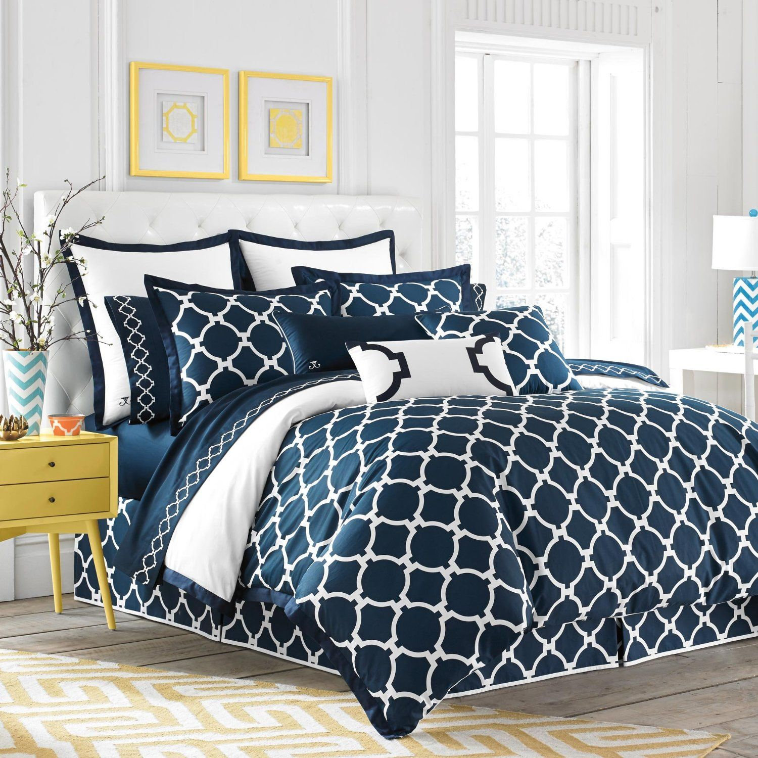 Enchanting Nautical Duvet Cover Idea With Orted Colors
