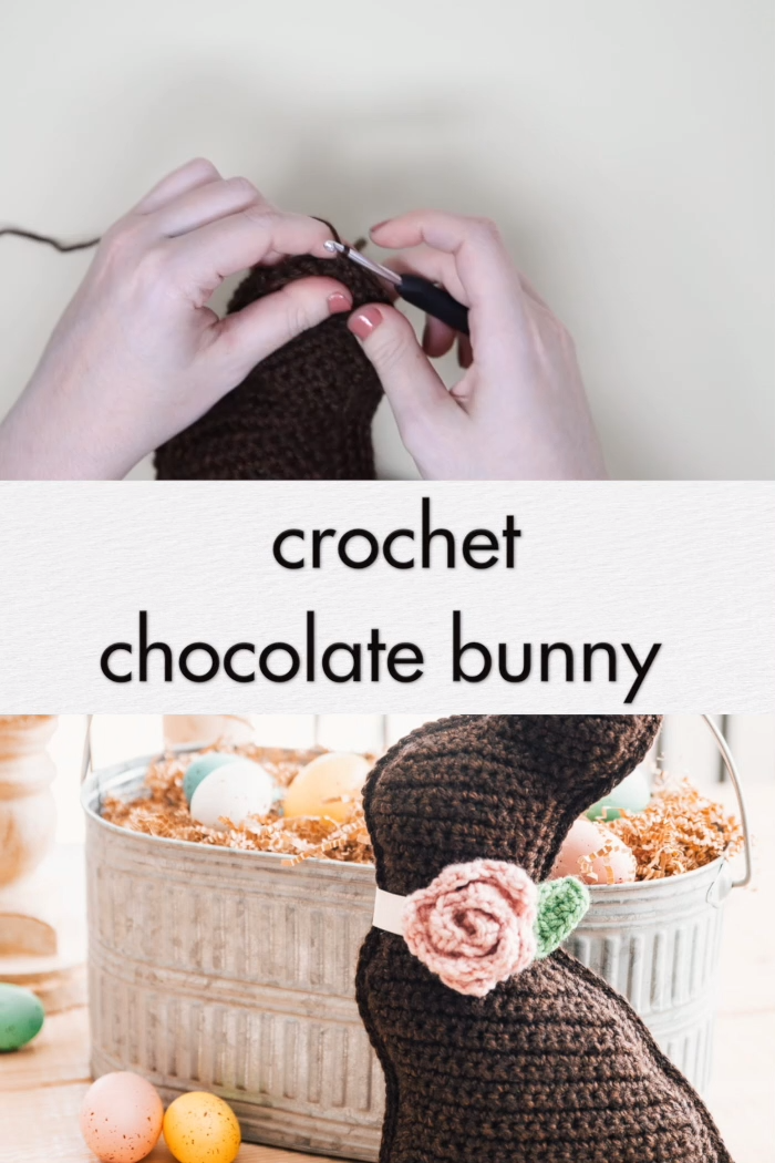 Photo of Crochet Chocolate Bunny – free pattern & tutorial