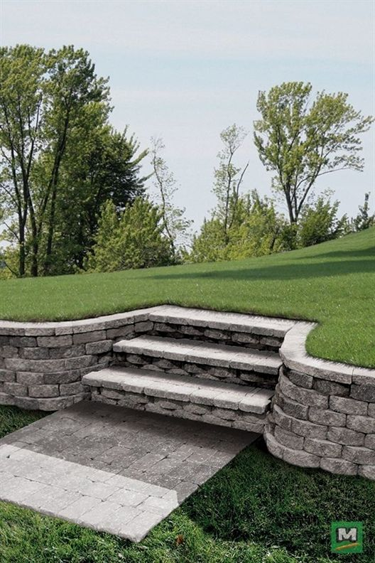 complement your landscaping with this crestone wall with on retaining wall blocks id=49218