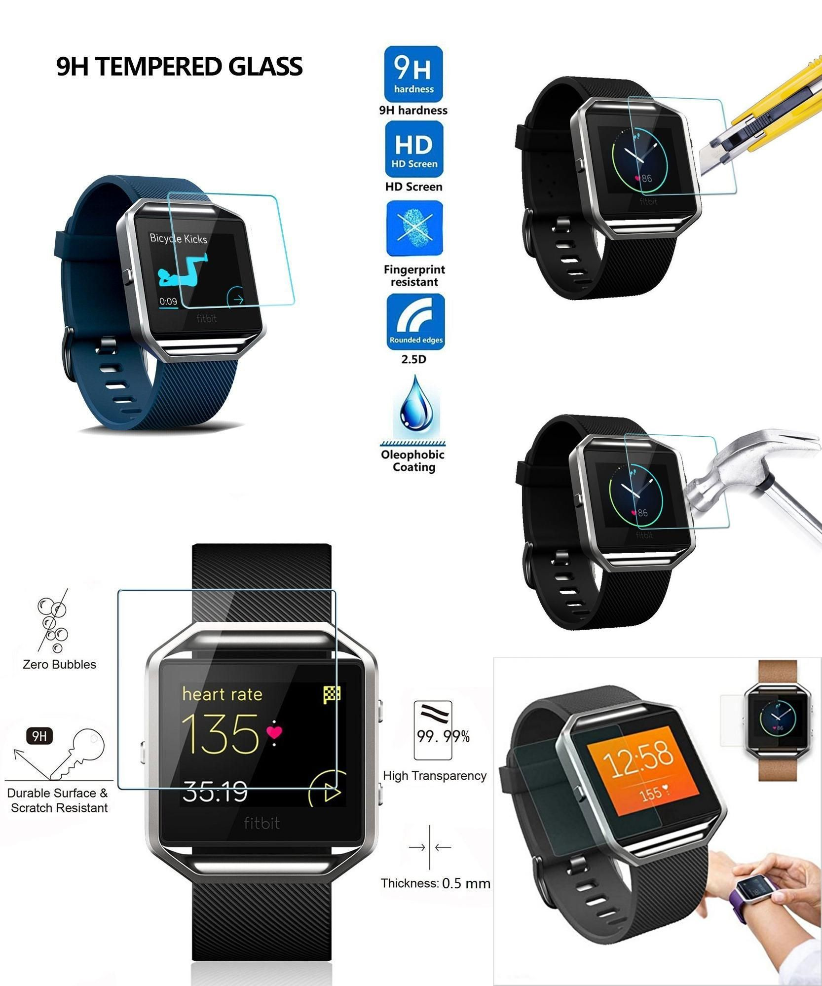 pretty nice dbad4 36f41 Visit to Buy] For Fitbit Blaze Smart Watch Screen Protector Cover ...