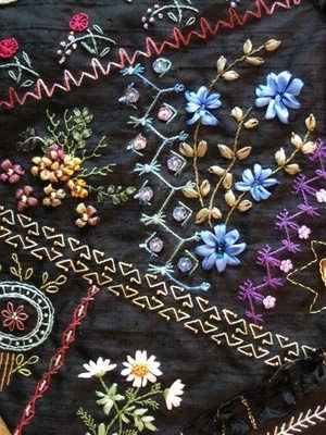 Maureen's Vintage Acquisitions Blog: Whole Cloth Crazy Quilt ... : crazy quilt blogs - Adamdwight.com