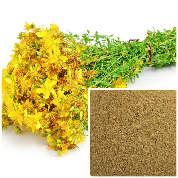 St  John's wort powder , soap making supplies, also for