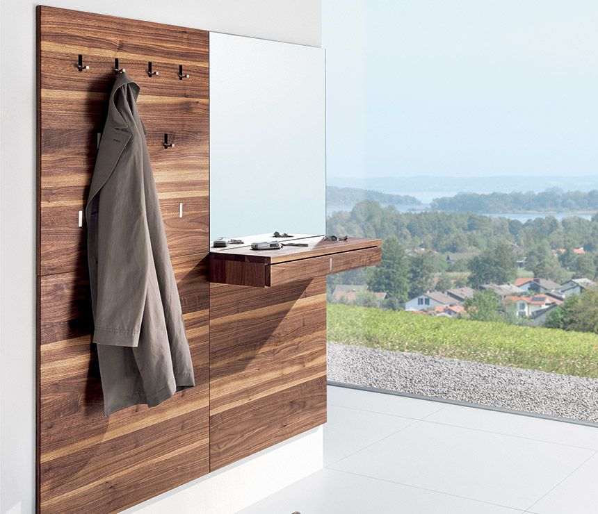 Luxury Modern coat rack - Team7 Hallway - Wharfside Furniture