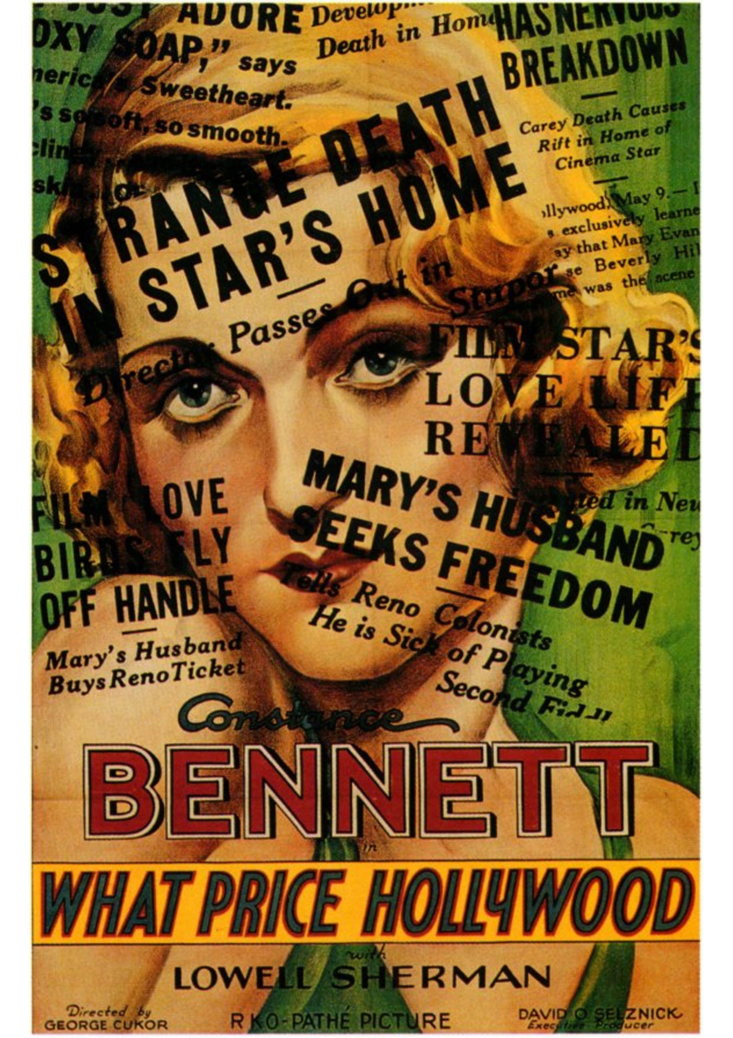 Resultado de imagem para what price hollywood 1932