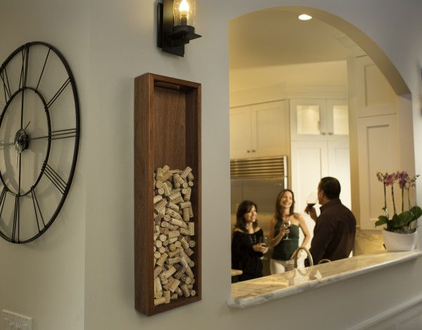 the distinctive wine cork frame from the wine cork company is the perfect decoration piece for - Wine Cork Picture Frame