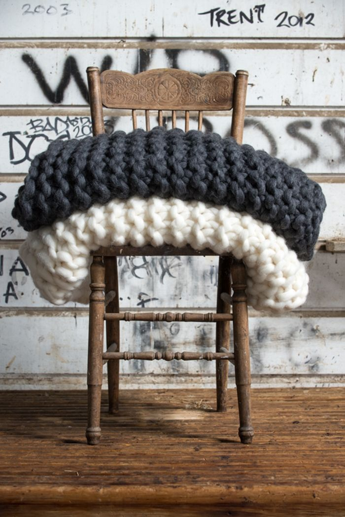 DIY Cupcake Holders Knitted throws, Knitted blankets