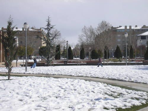 Parque erreniega nevado