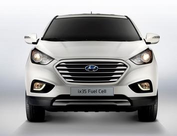 2015 Hyundai Tucson FCEV