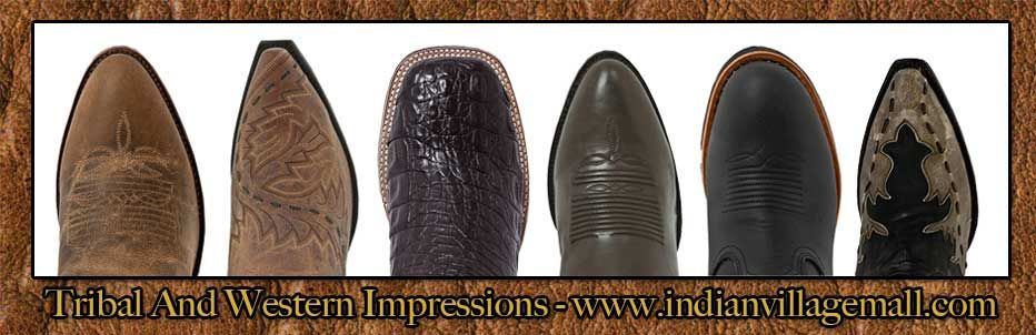 Different Cowboy Boot Toe Styles From Tribal And Western ...