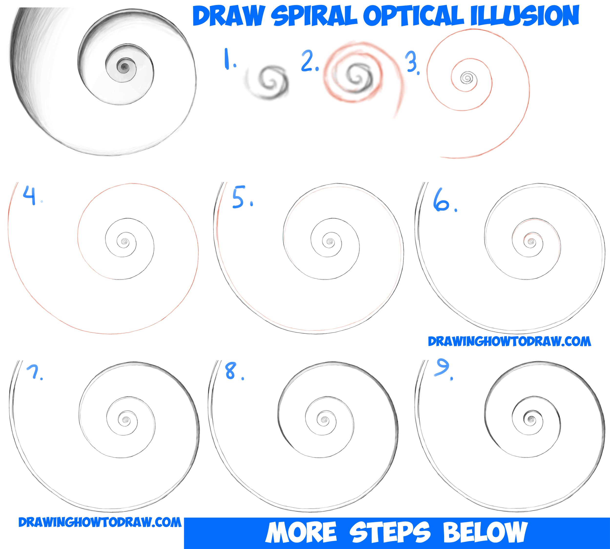 easy illusions to draw - photo #32