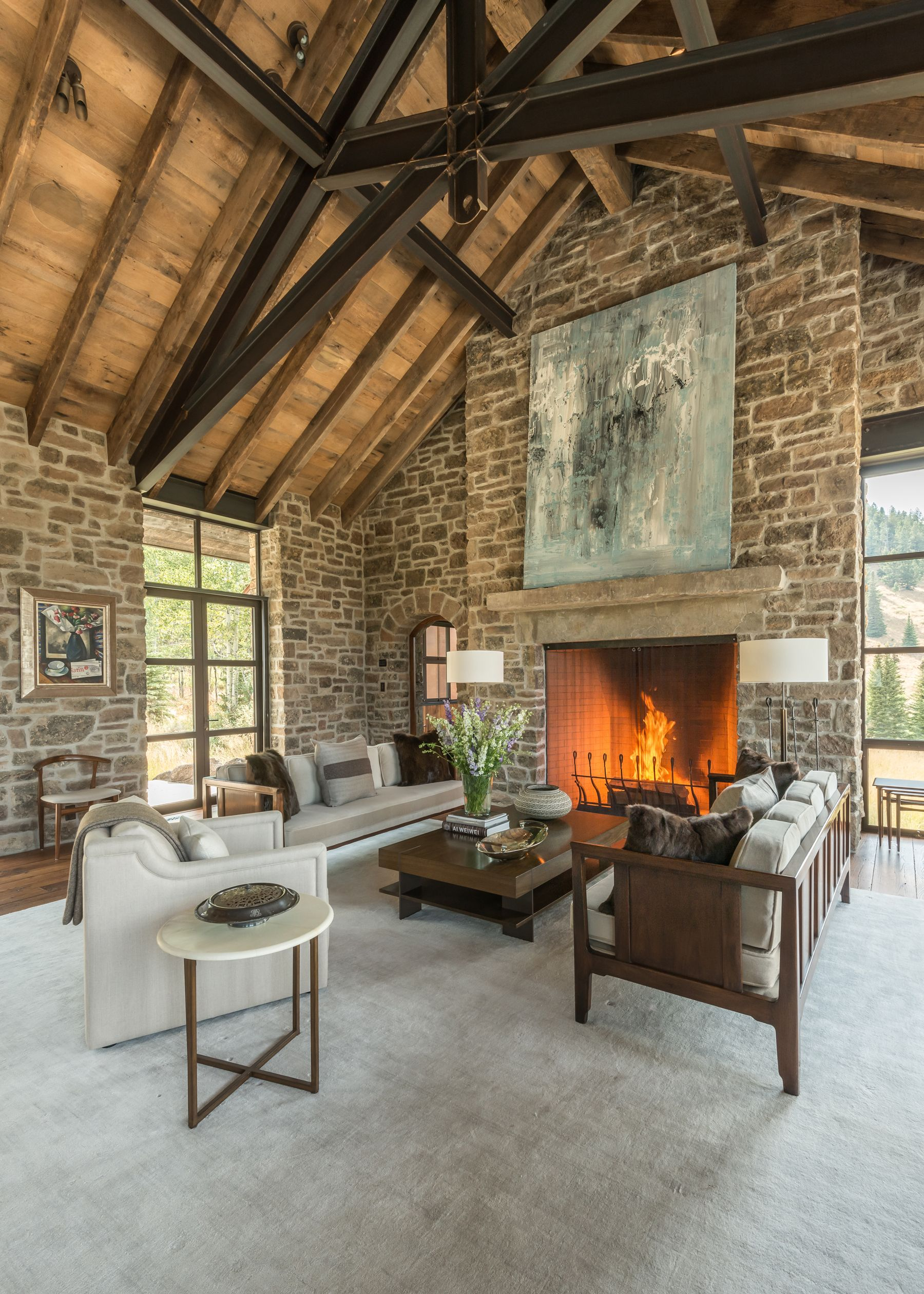 Rustic Home Interiors, Modern