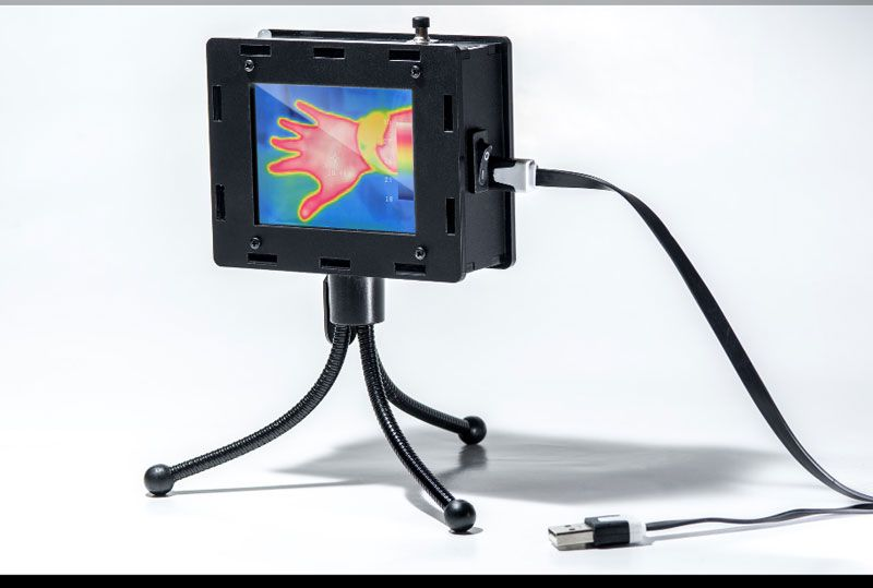 Build Your Own Thermal Camera Thermal Imaging Camera Diy Gadgets Thermal Imaging