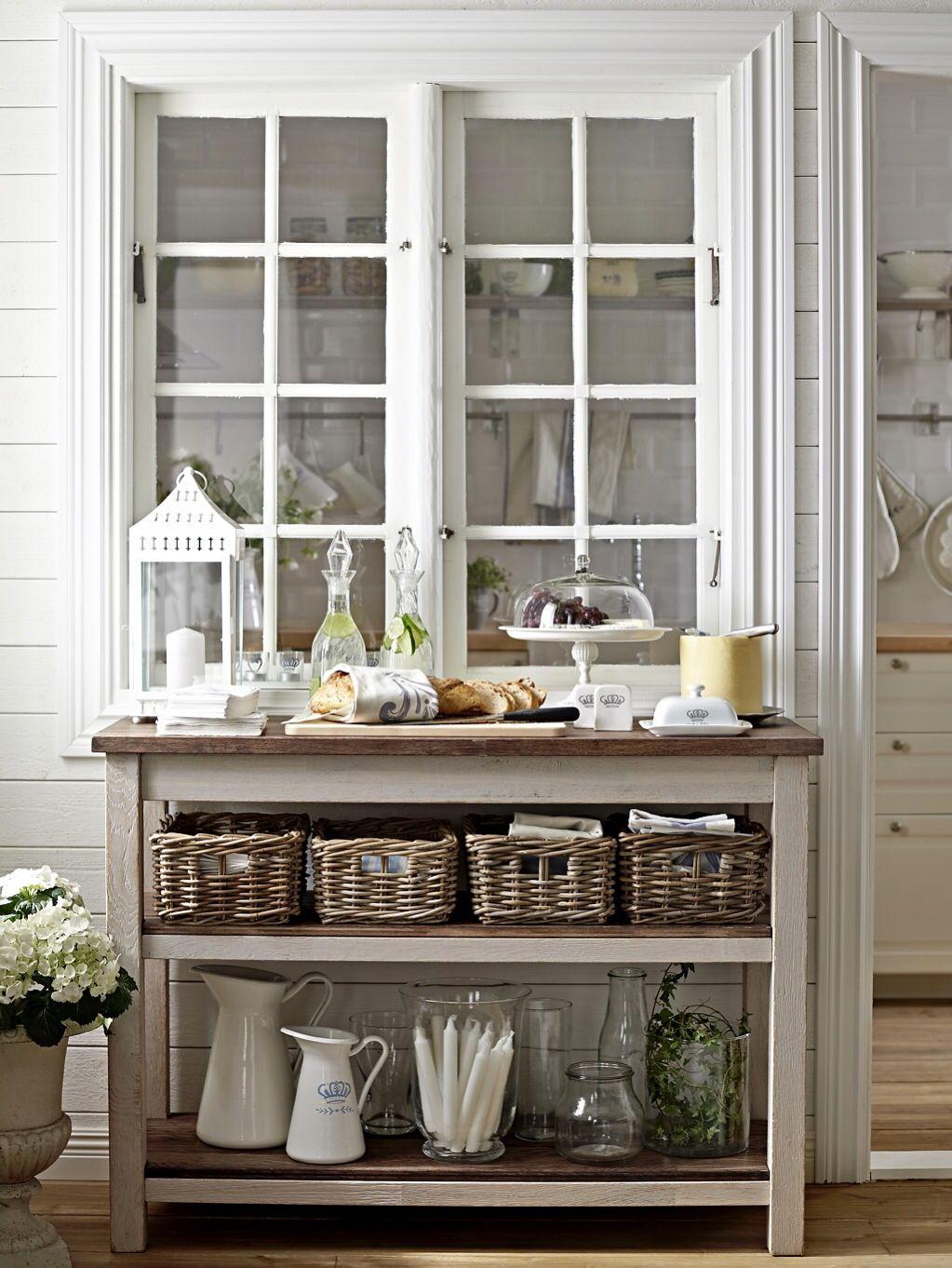 Mesa auxiliar cocina | Decoracion de casas rusticas ...