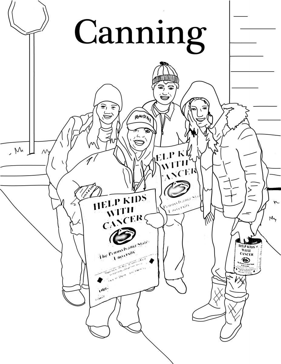 Coloring Pages | Penn State Dance Marathon | Second Grade | Pinterest