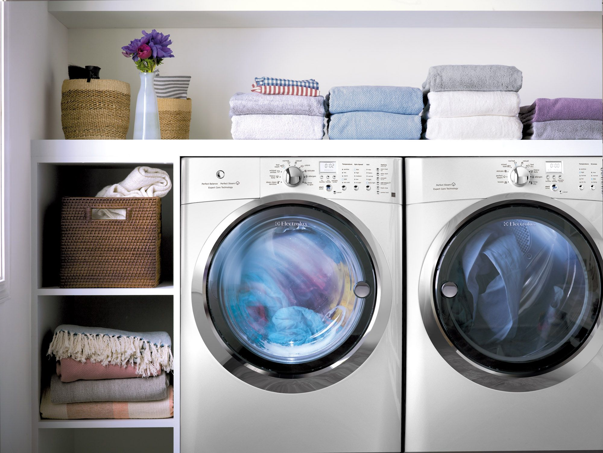 Organization At It S Best Laundryroom Electrolux Email Connect Ajmadison Com Board Url Laundry Household Cleaning Tips Laundry Room