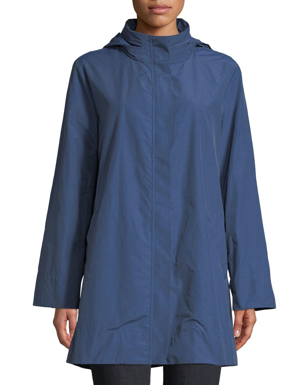 Eileen Fisher Hooded A Line Long Outerwear Jacket And Matching Items Matching Items Long Outerwear Long Outerwear Jacket Outerwear Jackets [ 1500 x 1200 Pixel ]